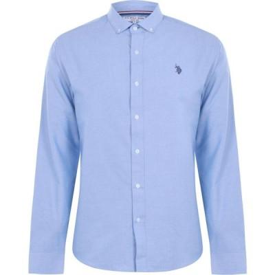 ユーエスポロアッスン US Polo Assn メンズ シャツ トップス Oxford Shirt Sky Blue