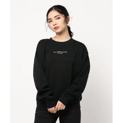 tシャツ Tシャツ MASSAGE LOGO SWEAT/メッセージロゴスエット