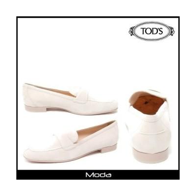 トッズ ローファー レディース TOD'S 靴 ホワイト