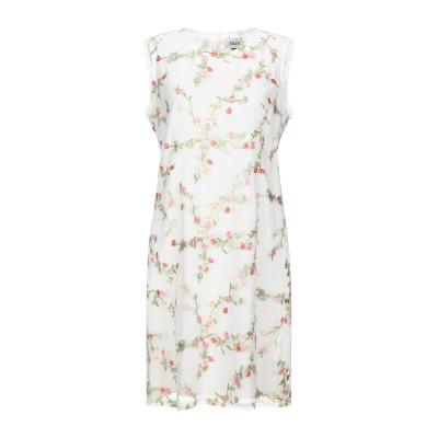 ALLURE ミニワンピース&ドレス ホワイト 8 ポリエステル 100% ミニワンピース&ドレス