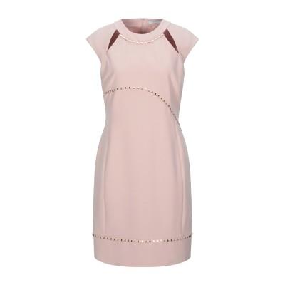 VERSACE COLLECTION ミニワンピース&ドレス ライトピンク 48 ポリエステル 95% / ポリウレタン 5% ミニワンピース&ドレス