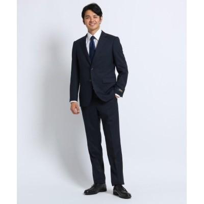 (TAKEO KIKUCHI/タケオキクチ)【Sサイズ~】シャドーストライプ スーツ Material using CORDURA/メンズ ダークネイビー(394)