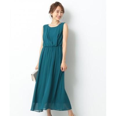any SiS/エニィスィス アシメタックミディー ドレス ピーコックグリーン系 1