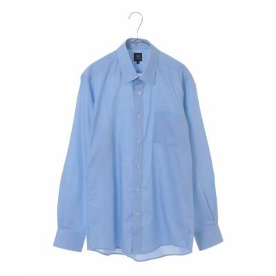 【アー・ヴェ・ヴェ】 コットンオケージョンシャツ[WEB限定サイズ] メンズ ライト ブルー S a.v.v