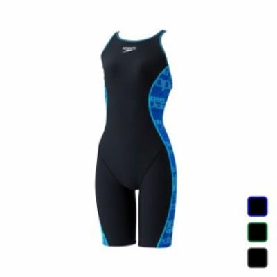 スピード SPEEDO レディース水泳 水着 練習用 SPD GLTCH T-KNEE STW12101 【2021SS】