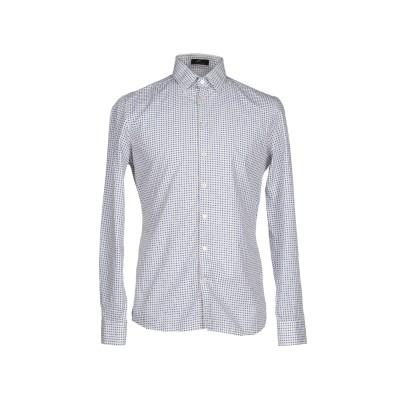 トネッロ TONELLO シャツ ホワイト 38 コットン 100% シャツ