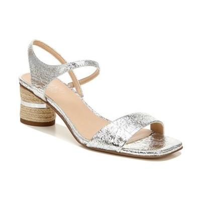 フランコサルト サンダル シューズ レディース Melody Sandals Silver Faux Leather