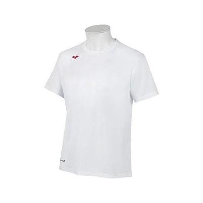 arena(アリーナ) Tシャツ スイエイハンソデTシャツ (kkar117-wht) ホワイト XA