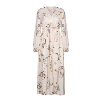 スーベニア SOUVENIR ロングワンピース&ドレス ライトピンク S ポリエステル 100% ロングワンピース&ドレス