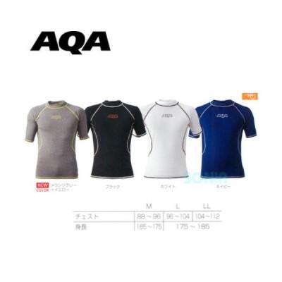 AQA(エーキューエー) KW-4600 UV ラッシュガードショートメンズ 半袖 マリンスポーツ