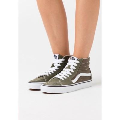 バンズ スニーカー レディース シューズ SK8-HI - Skate shoes - grape leaf/true white