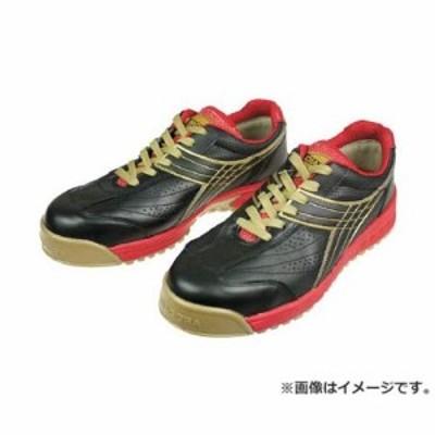 ディアドラ DIADORA 安全作業靴 ピーコック 黒 24.5cm PC22245 [r20][s9-830]