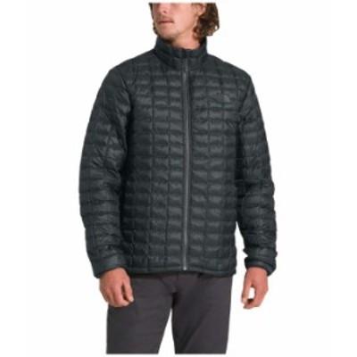 ノースフェイス メンズ コート アウター Thermoball Eco Jacket Asphalt Grey Ma