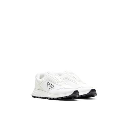 プラダ PRADA スニーカー シューズ 靴 ホワイト ナイロン