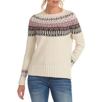 バブアー Barbour レディース ニット・セーター トップス Wareham Knit Sweater Aran