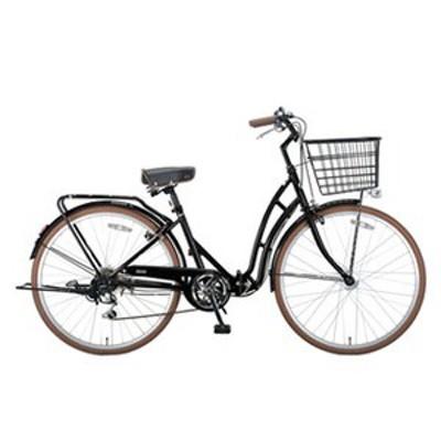 キャプテンスタッグ 折りたたみ自転車 バレイFDB266 折りたたみ自転車  26インチ  ブラック