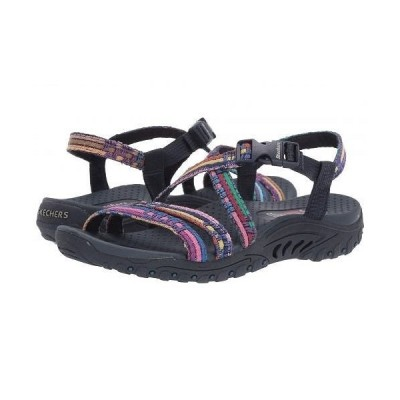 SKECHERS スケッチャーズ レディース 女性用 シューズ 靴 サンダル Reggae ? Sew Me - Navy Multi 1
