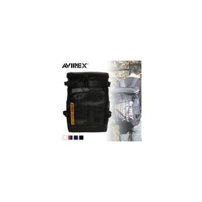 AVIREX/アヴィレックス  AVX593 SUPER HORNET ターポリン 大容量ヒューズBOX スクウェアリュック  (ブラック)