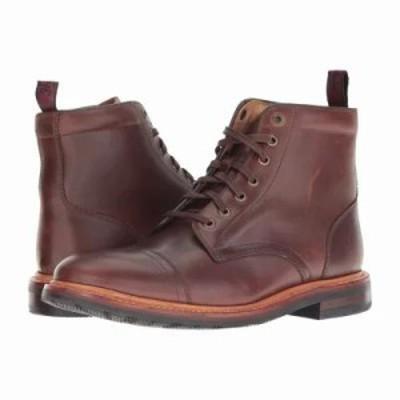 フローシャイム ブーツ Foundry Cap Toe Lace-Up Boot Brown Horween