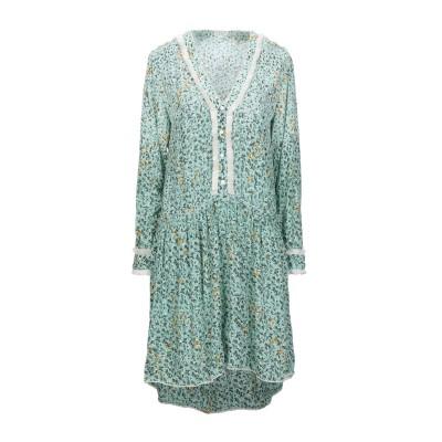 POUPETTE ST BARTH ミニワンピース&ドレス ライトグリーン XS レーヨン 100% ミニワンピース&ドレス