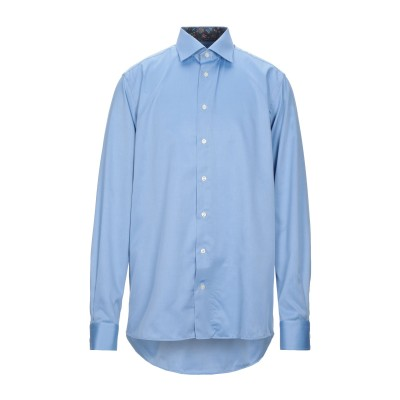 ETON シャツ ブルー 46 コットン 100% シャツ