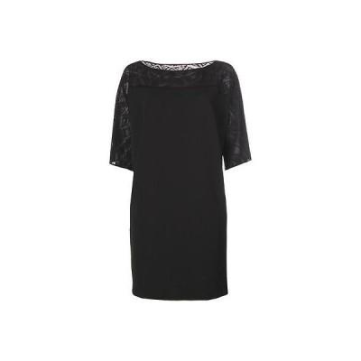 ドレス 女性  海外セレクション Tahari ASL 3881 レディース Jack Crochet Yoke Elbow スリーブ Cocktail ドレス Plus