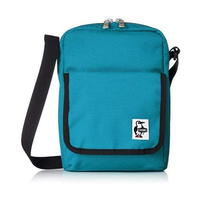 チャムス ショルダーバッグ Spruce Vertical Shoulder Teal/Caviar
