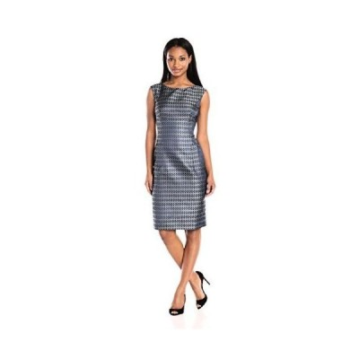 ドレス アンクライン Anne Klein レディース ドレス・ワンピース 1058567 Jacquard Front Pocket. Pleiades Combo