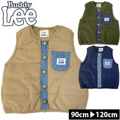 ベスト 中綿 キッズ 女の子 子供服 男の子 ナイロン アウター トドラー Buddy Lee バディーリー バディリー トップス