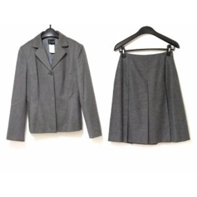 アイシービー ICB スカートスーツ サイズ9(J) レディース グレー【中古】20200520