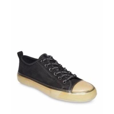 オールセインツ メンズ スニーカー シューズ Men's Jaxon Lace Up Low Top Sneakers Black