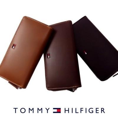 トミーヒルフィガー 財布 TOMMY HILFIGER ラウンドファスナー 長財布 31TL13X010 トミー メンズ  プレゼント
