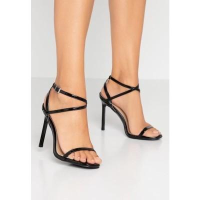 レディース サンダル CAROLYN - High heeled sandals - black