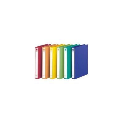 リングファイルA4S(背幅36mm)10冊 青 LIHIT LAB. F877U-8*10 教育施設限定商品 ed 165675