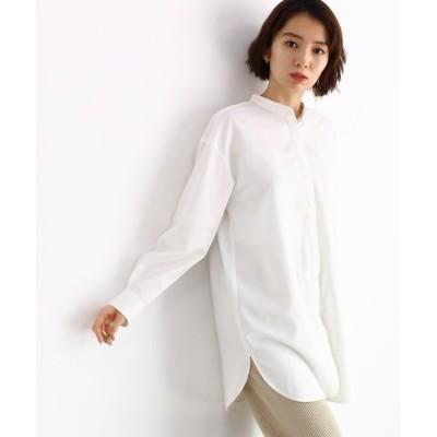 OZOC / バンドカラーシャツ WOMEN トップス > シャツ/ブラウス