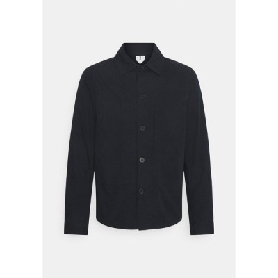 アーケット シャツ メンズ トップス Shirt - blue
