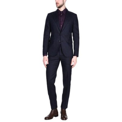 BRIAN DALES スーツ  メンズファッション  ジャケット  テーラード、ブレザー ダークブルー
