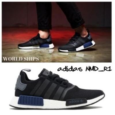 アディダス NMD adidas スニーカー メンズ エヌエムディー アディダスオリジナルス adidas Originals NMD R1 ブラック S76841 海外限定正