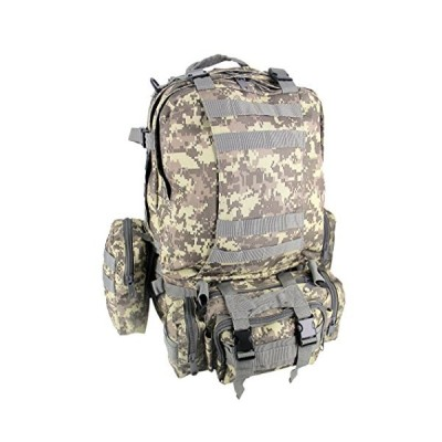 SHARK ARMY Military Tactical Backpack Assault Pack Bug Out Bag Rucksacks Combat Backpack Combat Travel Bag 55L MBB001 並行輸入品