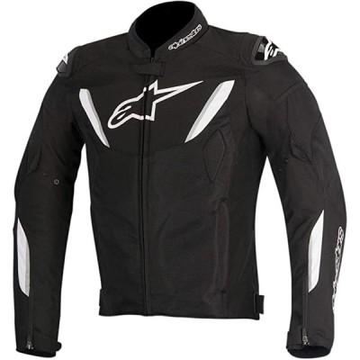 Alpinestars T-GP R エアー メンズ ストリート Motorcycle ジャケット - ブラック/ホワイト / 4X-(海外取寄せ品)