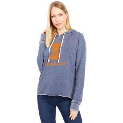 ユニセックス パーカー Illinois Fighting Illini Day Off Hoodie