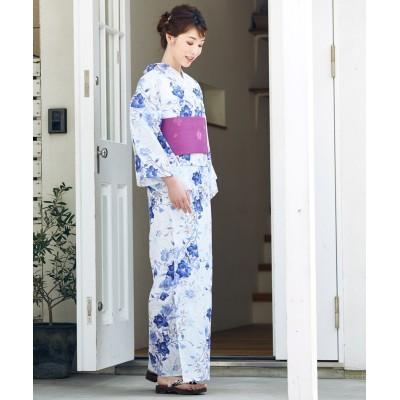 トールサイズ 浴衣2点セット(ゆかた+作り帯) 【高身長・長身】甚平(じんべい)Yukata