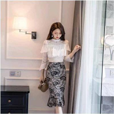 秋新作 予約商品 大きいサイズ レディース 秋冬 ファッション 花柄スカート S~5XL フェミニン 20200225