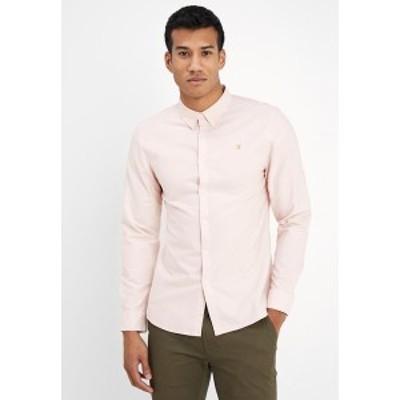 ファーラー メンズ シャツ トップス BREWER SLIM FIT - Shirt - pink pink