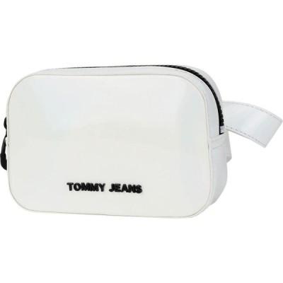 トミー ジーンズ TOMMY JEANS レディース バックパック・リュック バッグ medium drawstring White