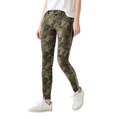 ディーエルワンナインシックスワン レディース デニムパンツ ボトムス Florence Camo-Print Ankle Skinny Jeans