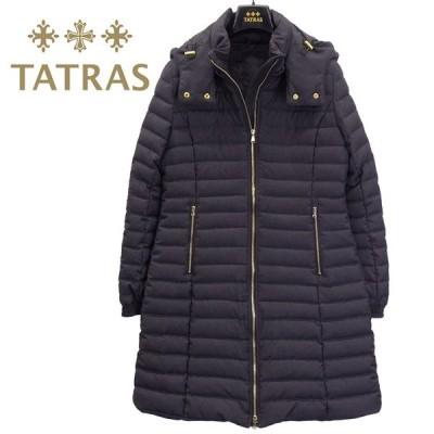 タトラス TATRAS ウール ダウンコート レディース NARMADA/ナルマダ 脱着式 フード付き ロングコート LTA20A4759-18 C.GRAY チャコール グレー セール