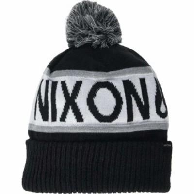 ニクソン Nixon メンズ ニット ビーニー 帽子 Teamster R Beanie Black/White