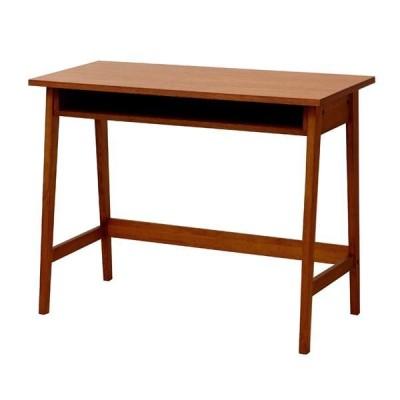 省スペースデスク hommage Desk ブラウン 〔組立品〕〔代引不可〕