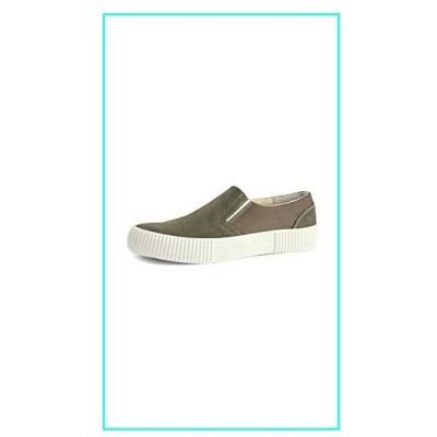 【新品】Shoe the Bear Men's Frisco Sneakers, Olive, Green, 11 Medium US(並行輸入品)
